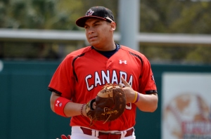 17-year-old Josh Naylor, Canada's next top draft pick.