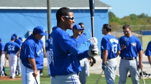 Kenny Wilson, during spring training with the Blue Jays, a few teams ago.