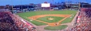 For Saturday night's matchup against the Lehigh Valley IronPigs, the Bisons got more than eight thousand fans.