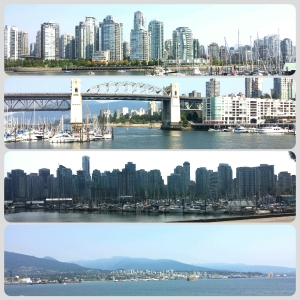 Just a few of the sites in Vancouver, from False Creek and Granville Island.