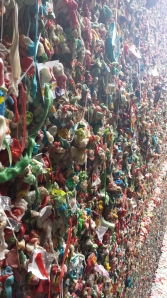 The Post Alley Gum Wall.