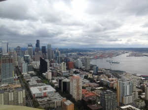 Seattle, from the Space Needle.