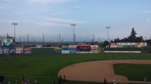 A shot of the ballpark in Everett that I accidentally left out previously. Love it.