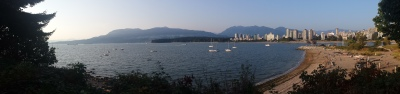 On our way to Bard on the Beach, we stopped to take in the beauty of Vancouver.