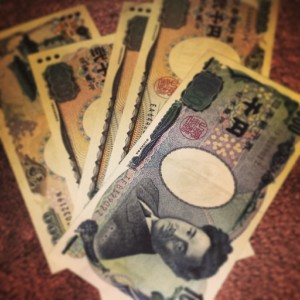 This is me, attempting to prepare for Japan. I got some Japanese money (yen), so basically I'm good to go, right?