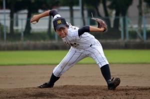 The Japanese submariner the University All-Stars threw against the Women's National Team.