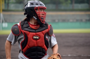 Jen Gilroy, the subject of one of my feature stories for Baseball Canada.